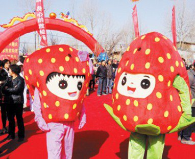 Cartoon Doll Cartoon Costumes For Halloween Costume Halloween Card Cartoon Strawberry Doll Fruits and Vegetables Mascot Costume