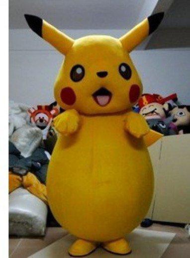 Cartoon Doll Clothing Cartoon Doll Clothing Cartoon Plush Pikachu Mascot Costume