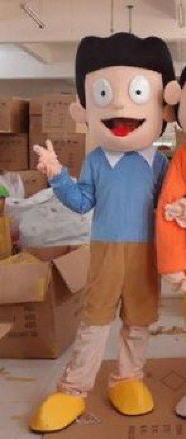 Cartoon Dolls Cartoon Clothing Factory Duo A Dream Jingle Cats Nobita Shizuka Mascot Costume