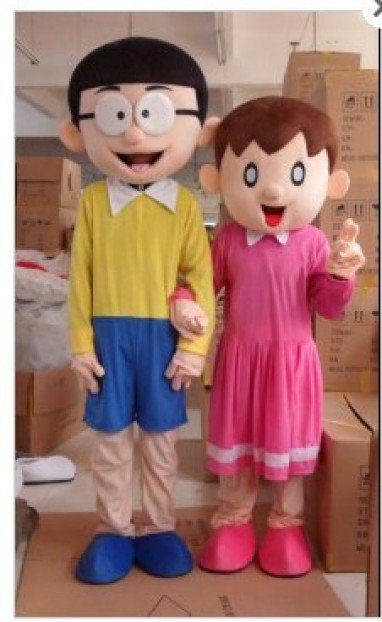 Manufacturers Cartoon Doll Clothing Cartoon Doll Clothing Nobita Shizuka Panhu Small Husband Mascot Costume