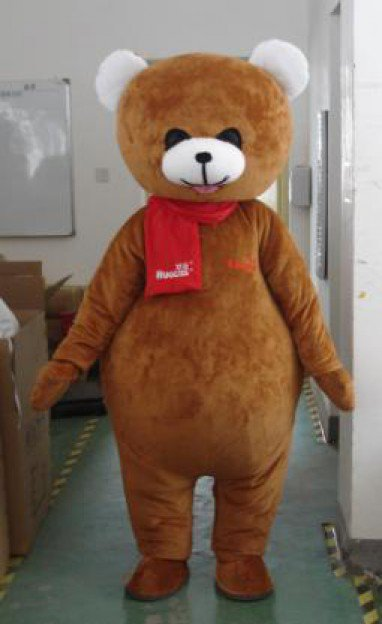 Cartoon Clothing Children Photography Festival Supplies Japan Supplies Etiquette Supplies Curious Bear Mascot Costume