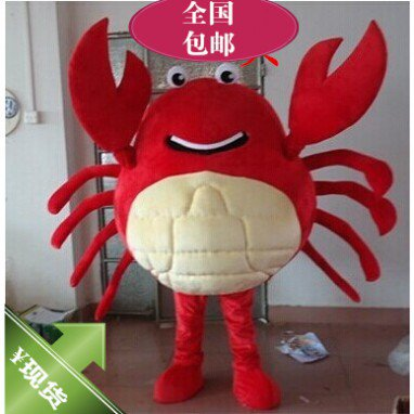 Cartoon Costumes Cartoon Doll Clothing Doll Clothing Cartoon Crab Crabs Ocean Mascot Costume