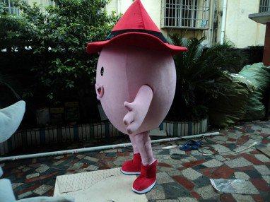Cartoon Doll Clothing Plush Toys Dolls Walking Cartoon Doll Clothing Cartoon Show Props Eggs Mascot Costume