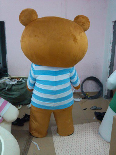 Easily Bear Dolls Doll Clothes Lazy Bear Rilakkuma Cartoon Show Clothing Wholesale Professional Mascot Costume