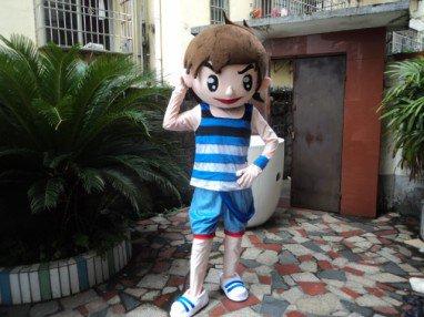 Little Boy Cartoon Doll Clothing Cartoon Dolls Walking Cartoon Doll Clothing Cartoon Doll Performances Props Mascot Costume