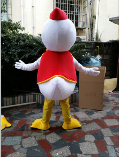 Must Taste Duck Cartoon Doll Clothing Walking Cartoon Dolls People Wearing Cartoon Doll Clothing Performance Clothing Vest Duck Mascot Costume