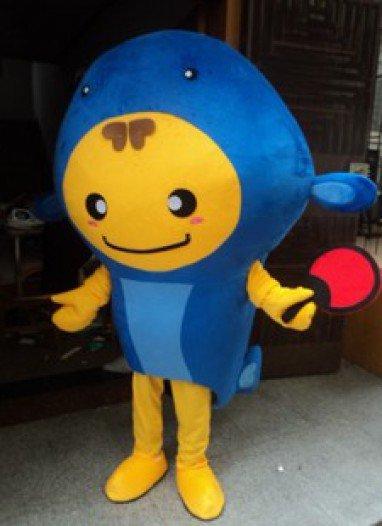 Aquarium Hoods Dolls Walking Cartoon Show Clothing Apparel Small Goldfish Fish Deep Sea Fish Mascot Costume
