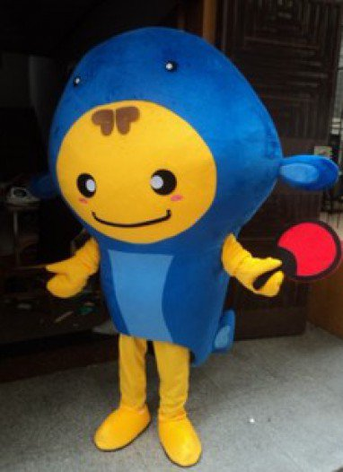 Aquarium Hoods Dolls Walking Cartoon Show Clothing Apparel Small Goldfish Fish Deep Sea Fish Mascot Costume