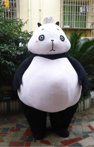 Cartoon Doll Clothing Cartoon Doll Cartoon Dolls Walking Cartoon Doll Clothing Performances Props Panda Mascot Costume