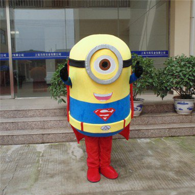 Despicable Me 2 Despicable Me Little Cartoon Clothing Huangren Gong Tsai Huang Doudou Doll Clothing Cartoon Mascot Mascot Costume