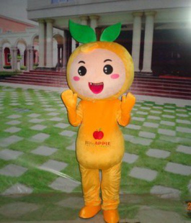 Events Adult Wear Plush Cartoon Clothing Cartoon Doll Cartoon Doll Clothing Headgear Promotions Apple Mascot Costume
