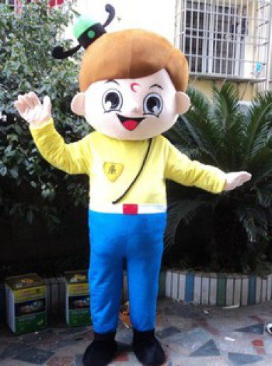 Independent Boy Performance Clothing Doll Dress Performance Props Dress Honest Boy Walking Cartoon Doll Clothing Mascot Costume