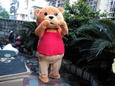 Kamiya Cute Bear Cartoon Dolls Clothing Mascot Costume