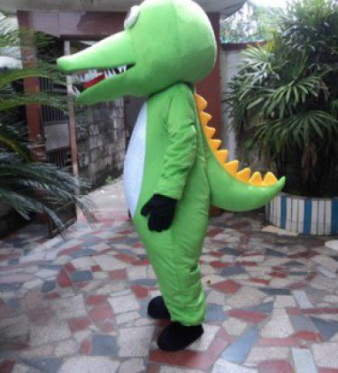 Adult Crocodile Show Crocodile Costume Doll Gift Marine Animals Walking Cartoon Dolls Clothing Mascot Costume