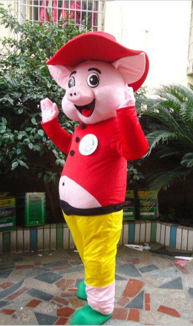 Cartoon Doll Clothing Cartoon Doll Doll Cartoon Walking Doll Clothing Cartoon Show Props Pig Mascot Costume