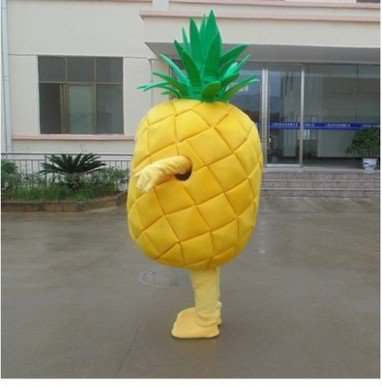 Plant Fruit Pineapple Cartoon Dolls Doll Clothing Advertising Props Performance Clothing Celebration Activities Doll Clothing Mascot Costume