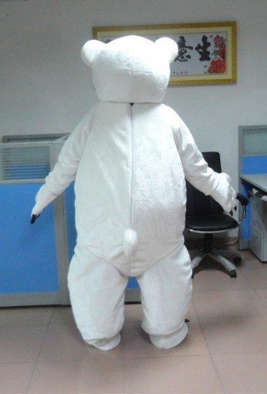 Polar Bear Cartoon Clothing Cartoon Walking Doll Advertising Campaigns Show Cartoon Dolls Dolls Mascot Costume