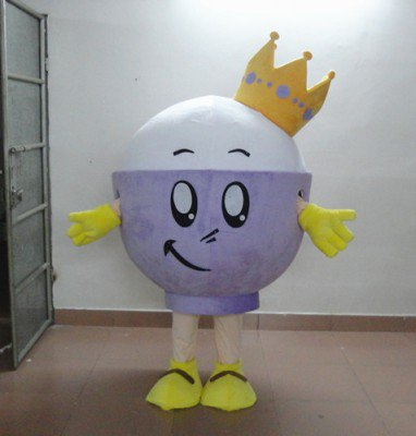Cartoon Costumes Cartoon Doll Clothing Doll Clothing Cartoon Model Cartoon Costumes Bowl Mascot Costume