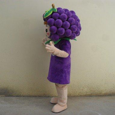 Grape Fruit Doll Clothing Cartoon Dolls Cartoon Clothing Cartoon Adult Cartoon Toys Clothing Mascot Costume