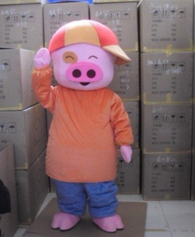 Mcdull Pig Cartoon Doll Clothing Doll Clothing Cartoon Walking Doll Clothing Advertising Promotion Person Mcdull Mascot Costume