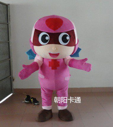 Advertising Propaganda Cartoon Clothing Clothes People Wear Clothing Cartoon Clothing Doll Action Figure Happy People Mascot Costume