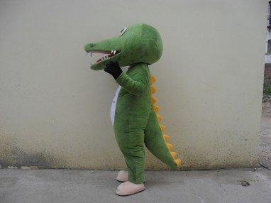 Crocodile Cartoon Dolls Dress Performance Clothing Animation Cartoon Dolls Walking Doll Costumes Mascot Costume