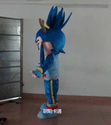 Cartoon Film Props Dress Clothes Cartoon Dolls Cartoon Characters Warrior Costumes Stage Performance Mascot Costume