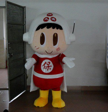 Cartoon Costumes Cartoon Doll Clothing Cartoon Characters Show Costume Props Stage Props Advertisement Po Chai Pills Mascot Costume