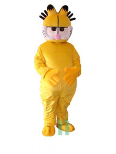Cartoon Doll Clothing Walking Hedging Yellow Garfield Cartoon Doll Clothing Decoration Activities Mascot Costume