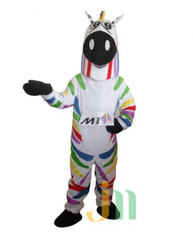 Cartoon Purple Horse Walking Doll Doll Cartoon Clothing Doll Hedging Zima Mascot Costume