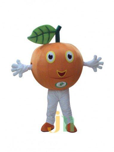 Orange Cartoon Doll Cartoon Walking Doll Clothing Doll Hedging Oranges Mascot Costume