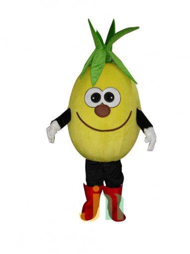 Pineapple Juice Doll Cartoon Clothing Cartoon Walking Doll Hedging Pineapple Juice Mascot Costume