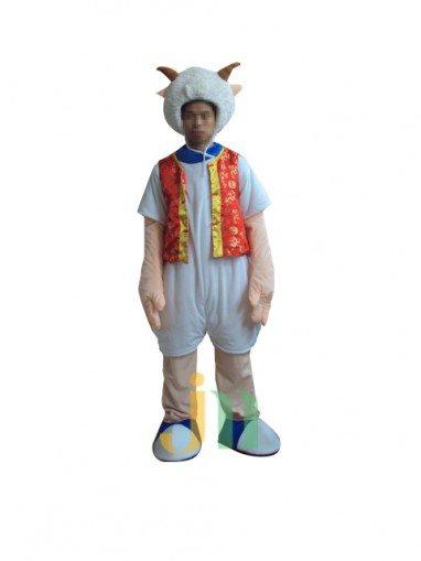 Pleasant Faceless Cartoon Doll Cartoon Walking Doll Clothing Doll Sets Mascot Costume