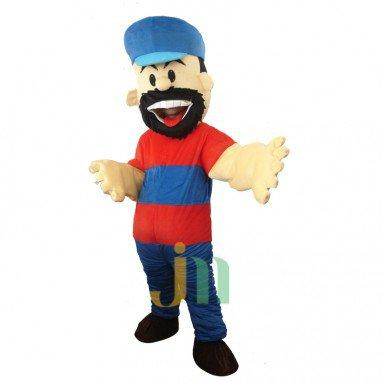Popeye Cartoon Doll Cartoon Walking Doll Clothing Hedging Popeye Mascot Costume
