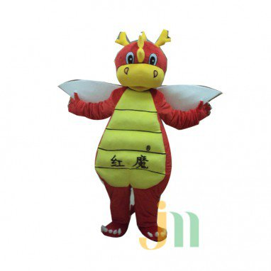 Red Devils Doll Cartoon Clothing Cartoon Walking Doll Hedging Red Devils Mascot Costume