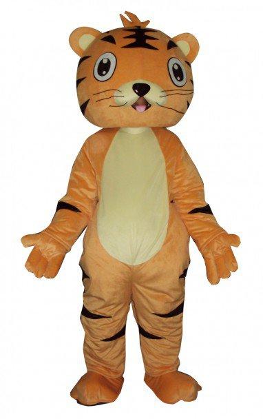 Wang Doll Cartoon Clothing Cartoon Tiger Walking Doll Hedging Tiger King Mascot Costume