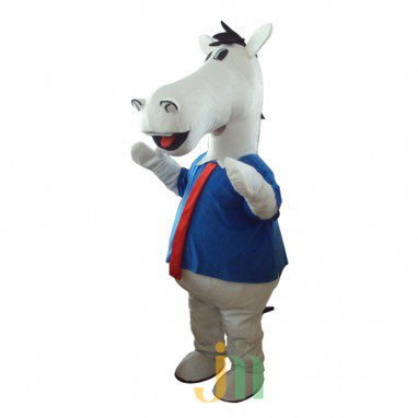 Cartoon Doll Cartoon Clothing Sweat Extension Horse Walking Doll Hedging Khan Ma Yan Mascot Costume