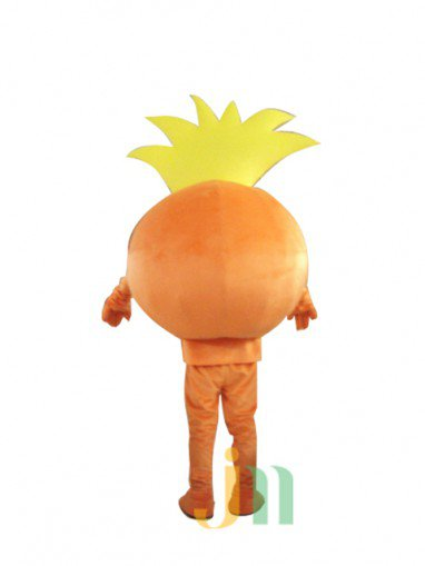 Cartoon Doll Clothing Walking Hedging Lucky Baby Doll Clothing Decoration Orange Ball Animation Activities Mascot Costume