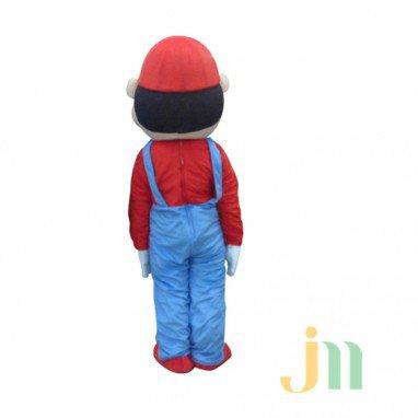 Cartoon Games Mario Bros Doll Cartoon Walking Doll Clothing Hedging Mario Mascot Costume