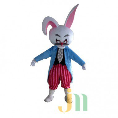 Cartoon Rabbit Costume Walking Doll Doll Cartoon Butler Hedging Rabbit Butler Mascot Costume
