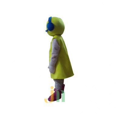 Even Cartoon Music Woman Walking Doll Cartoon Clothing Sets Head Mascot Costume
