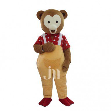 Golden Bear Cartoon Doll Cartoon Walking Doll Clothing Hedging Golden Bear Mascot Costume