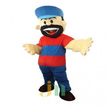 Hercules Beard Cartoon Doll Cartoon Walking Doll Clothing Sets Sheep Mascot Mascot Costume