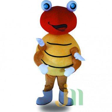 Iron Beetle Cartoon Doll Cartoon Walking Doll Clothing Hedging Iron Worm Mascot Costume