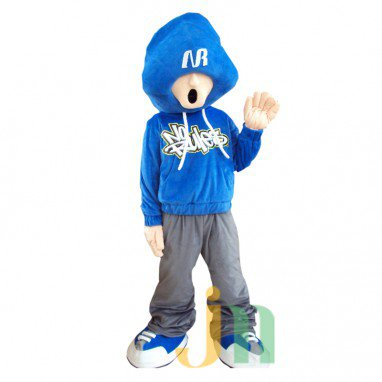 Justin Doll Cartoon Clothing Cartoon Walking Doll Hedging Justin Mascot Costume