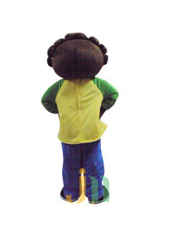 Pitapat Lovely Cartoon Boy Walking Doll Clothing Doll Cartoon Boy Hedging Pitapat Mascot Costume