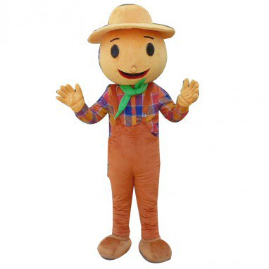 Scarecrow Doll Cartoon Clothing Cartoon Walking Doll Hedging Scarecrow Mascot Costume