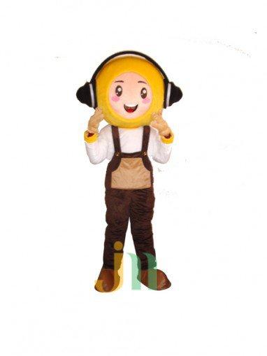 Sound Cartoon City Man Walking Sound Even Cartoon Clothing Doll Sets City Male Mascot Costume