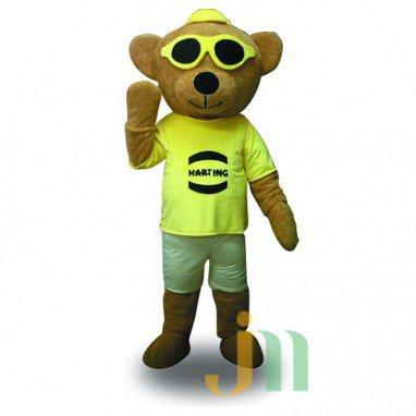 Yadi Bear Doll Cartoon Clothing Cartoon Walking Doll Hedging Harting Bears Mascot Costume