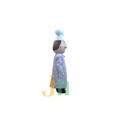Cartoon Baker Doll Cartoon Walking Doll Clothing Sets Head Baker Mascot Costume
